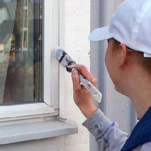 fönstermålning